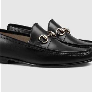 GUCCI Men's Horsebit Loafers Black